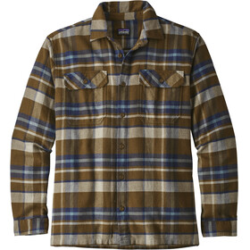 Patagonia M's LS Fjord Flannel Shirt Basin: Sediment